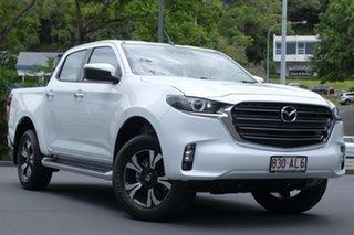 2020 Mazda BT-50 TFS40J XTR Ice White 6 Speed Sports Automatic Utility.
