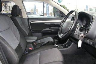 2013 Mitsubishi Outlander ZJ MY13 LS 4WD Grey 6 Speed Constant Variable Wagon