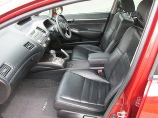2009 Honda Civic 8th Gen MY10 Sport Red 5 Speed Automatic Sedan