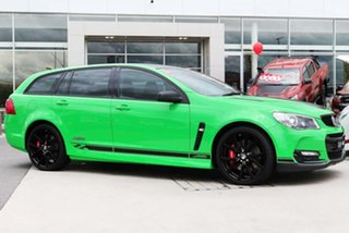 2017 Holden Commodore VF II MY17 SS V Sportwagon Redline Spitfire Green 6 Speed Sports Automatic.