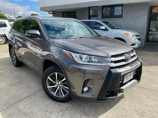 2017 Toyota Kluger GSU50R GXL 2WD Grey 8 Speed Sports Automatic Wagon.