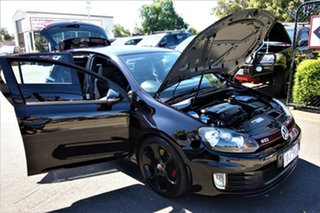 2012 Volkswagen Golf VI MY13 GTI DSG Black 6 Speed Sports Automatic Dual Clutch Hatchback