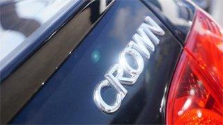 2006 Toyota Crown GRS184 Black 6 Speed