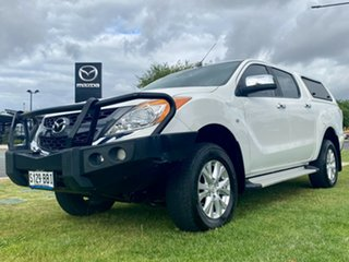 2013 Mazda BT-50 UP0YF1 XTR Cool White 6 Speed Sports Automatic Utility.