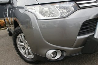 2013 Mitsubishi Outlander ZJ MY13 LS 4WD Grey 6 Speed Constant Variable Wagon.