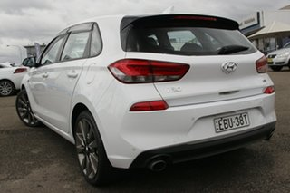 2018 Hyundai i30 PD2 MY18 SR White 6 Speed Manual Hatchback.