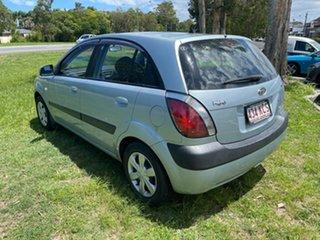 2007 Kia Rio JB MY07 EX Blue 4 Speed Automatic Hatchback