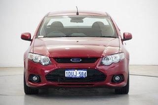 2011 Ford Falcon FG XR6 Ute Super Cab Burgundy 6 Speed Sports Automatic Utility.