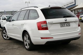 2015 Skoda Octavia NE MY16 Ambition DSG 110TSI White 7 Speed Sports Automatic Dual Clutch Wagon.
