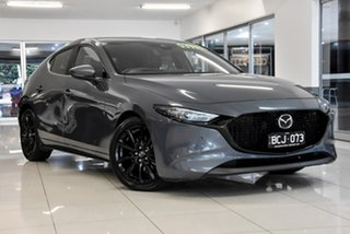 2019 Mazda 3 BP2HLA G25 SKYACTIV-Drive Astina Grey 6 Speed Sports Automatic Hatchback.