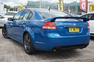 2013 Holden Commodore VE II MY12.5 SV6 Z Series Blue 6 Speed Manual Sedan