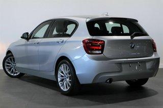 2011 BMW 118i F20 118i Silver 8 Speed Sports Automatic Hatchback.