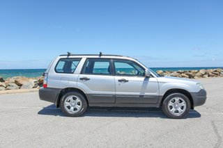 2006 Subaru Forester 79V MY06 X AWD Silver 4 Speed Automatic Wagon.
