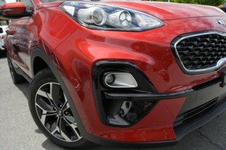 2020 Kia Sportage QL MY21 SX 2WD Fiery Red 6 Speed Sports Automatic Wagon.