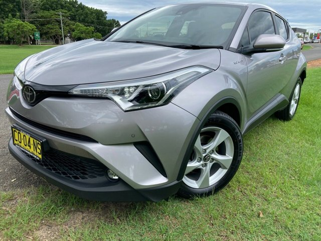 Pre-Owned Toyota C-HR NGX10R S-CVT 2WD South Grafton, 2017 Toyota C-HR NGX10R S-CVT 2WD Shadow Platinum 7 Speed Constant Variable Wagon