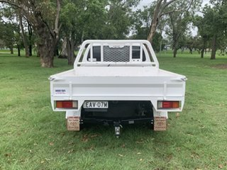 2019 Toyota Hilux GUN126R SR Double Cab White 6 Speed Manual Cab Chassis