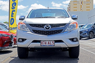 2013 Mazda BT-50 UP0YF1 XTR Freestyle Silver 6 Speed Sports Automatic Utility.