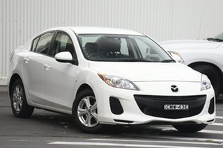 2013 Mazda 3 BM5278 Neo SKYACTIV-Drive White 6 Speed Sports Automatic Sedan.