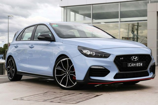 Used Hyundai i30 PDe.2 MY18 N Performance Liverpool, 2018 Hyundai i30 PDe.2 MY18 N Performance Performance Blue 6 Speed Manual Hatchback