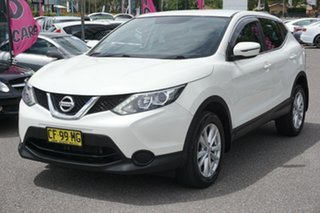 2015 Nissan Qashqai J11 ST White 1 Speed Constant Variable Wagon