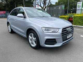 2015 Audi Q3 8U MY15 TDI S Tronic Quattro Sport Silver 7 Speed Sports Automatic Dual Clutch Wagon.