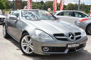 2008 Mercedes-Benz SLK-Class R171 MY09 SLK350 Grey 7 Speed Automatic Roadster.