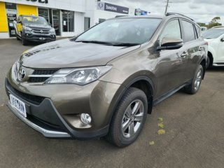 2015 Toyota RAV4 ASA44R MY14 GXL AWD Bronze 6 Speed Sports Automatic Wagon.