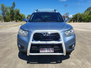2010 Hyundai Santa Fe CM MY10 Elite Blue 6 Speed Sports Automatic Wagon.