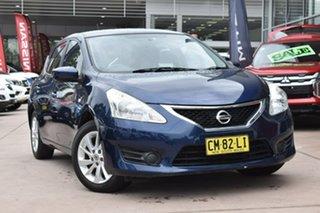 2015 Nissan Pulsar C12 Series 2 ST Blue 1 Speed Constant Variable Hatchback.