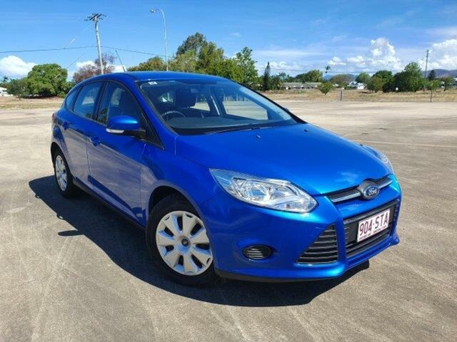 Used Ford Focus LW Ambiente PwrShift Townsville, 2012 Ford Focus LW Ambiente PwrShift Winning Blue 6 Speed Sports Automatic Dual Clutch Hatchback