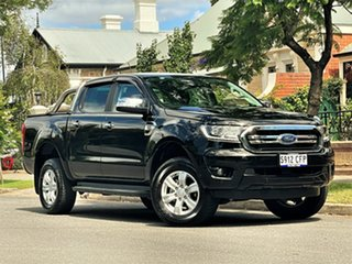 2020 Ford Ranger PX MkIII 2020.25MY XLT Black 10 Speed Sports Automatic Double Cab Pick Up.