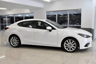 2016 Mazda 3 BM5238 SP25 SKYACTIV-Drive Astina White 6 Speed Sports Automatic Sedan.