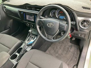 2015 Toyota Corolla ZRE182R Ascent S-CVT Silver Pearl 7 Speed Constant Variable Hatchback.