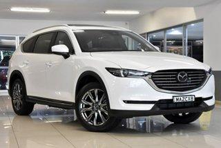 2020 Mazda CX-8 KG4W2A Asaki SKYACTIV-Drive i-ACTIV AWD White 6 Speed Sports Automatic Wagon.