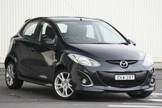 2010 Mazda 2 DE10Y1 Genki Black 5 Speed Manual Hatchback.