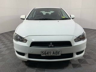2008 Mitsubishi Lancer CJ MY09 ES Sportback White 6 Speed Constant Variable Hatchback.
