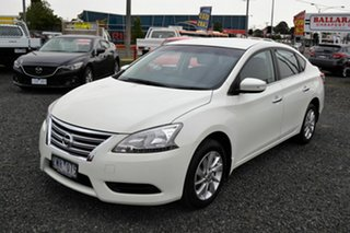 2013 Nissan Pulsar B17 ST White 6 Speed Manual Sedan.