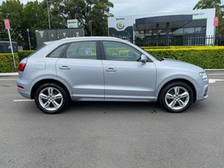 2015 Audi Q3 8U MY15 TDI S Tronic Quattro Sport Silver 7 Speed Sports Automatic Dual Clutch Wagon