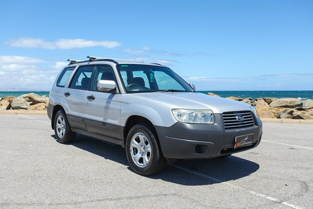 Used Subaru Forester 79V MY06 X AWD Lonsdale, 2006 Subaru Forester 79V MY06 X AWD Silver 4 Speed Automatic Wagon