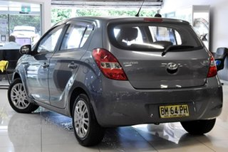 2011 Hyundai i20 PB MY11 Elite Blue 4 Speed Automatic Hatchback.