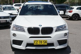 2012 BMW X3 F25 MY0412 xDrive20d Steptronic White 8 Speed Automatic Wagon.