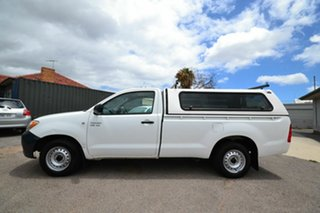 2005 Toyota Hilux GGN15R SR White 5 Speed Manual Pickup