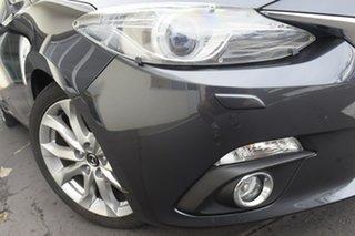 2016 Mazda 3 BN5238 SP25 SKYACTIV-Drive GT Grey 6 Speed Sports Automatic Sedan.