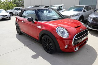 2017 Mini Convertible F57 Cooper S Red/Black 6 Speed Sports Automatic Convertible.