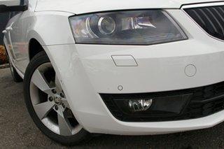 2015 Skoda Octavia NE MY16 Ambition DSG 110TSI White 7 Speed Sports Automatic Dual Clutch Wagon.
