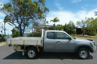 2008 Mazda BT-50 UNY0E3 DX+ Freestyle Grey 5 Speed Manual Cab Chassis.