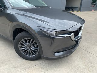 2020 Mazda CX-5 KF2W7A Maxx SKYACTIV-Drive FWD Sport Machine Grey 6 Speed Sports Automatic Wagon.