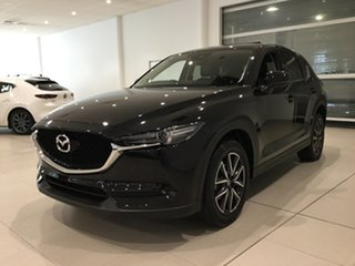 2017 Mazda CX-5 KF4WLA GT SKYACTIV-Drive i-ACTIV AWD Black 6 Speed Sports Automatic Wagon