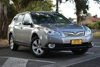 2011 Subaru Outback B5A MY11 2.5i Lineartronic AWD Silver 6 Speed Constant Variable Wagon.
