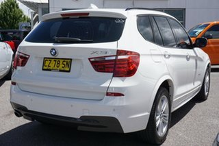 2012 BMW X3 F25 MY0412 xDrive20d Steptronic White 8 Speed Automatic Wagon